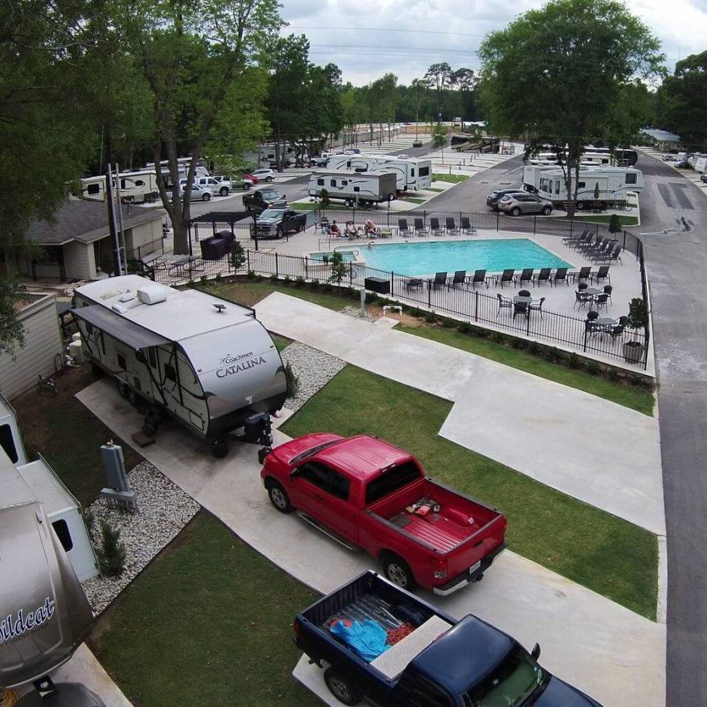 Majestic Pines RV Park Outdoor Amenities